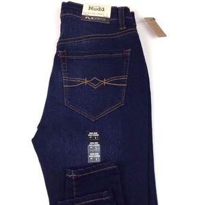 Juniors Mudd FLX Stretch High-Rise Dark Jean
